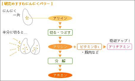 ニンニクの成分について
